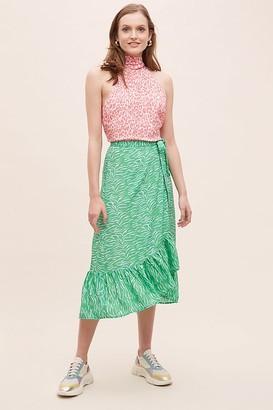 Primrose Park Animal Print Wrap Skirt