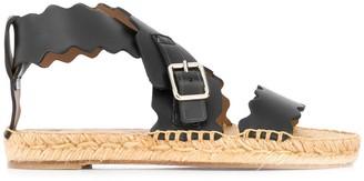 Chloé Lauren espadrille flat sandals