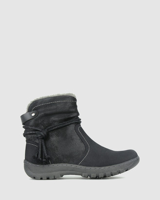 betts Alaska Faux Fur Ankle Boots
