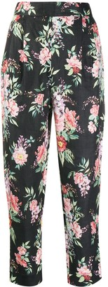 Zimmermann Floral-Print Tapered Trousers