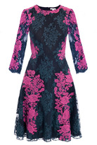 Erdem Lily lace embroidered dress