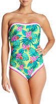 Betsey Johnson Floral One-Piece Swimsuit