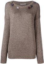 Christopher Kane gem embellished sweater