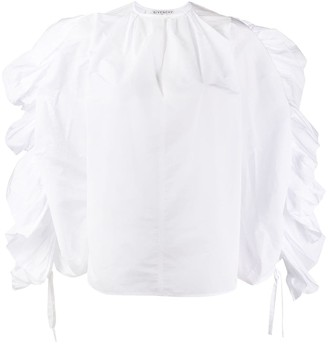 Givenchy Accentuated Sleeve Blouse