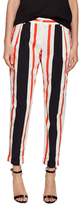 Dolce & Gabbana Cotton Striped Skinny Pant