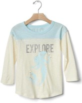 Gap babyGap | Disney Baby embellished colorblock tunic