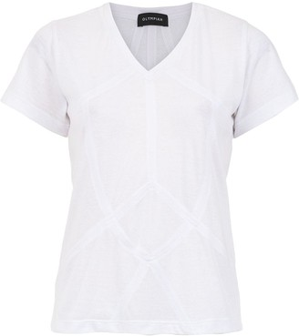 Olympiah Malta top with cut details