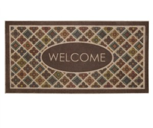 "Mohawk Ornamental 2"" L X 4"" W Entry Doormat Bedding"