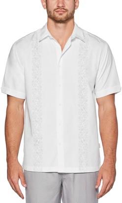 Cubavera Men's Print Dice Shirt