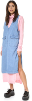 Sjyp Sleeveless Denim Dress