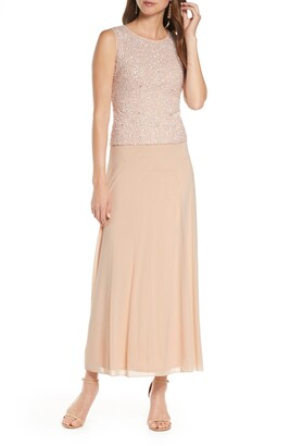 Pisarro Nights Sequin Bodice Gown