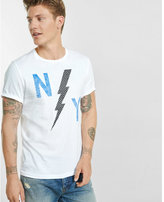 Express bolt ny graphic t-shirt