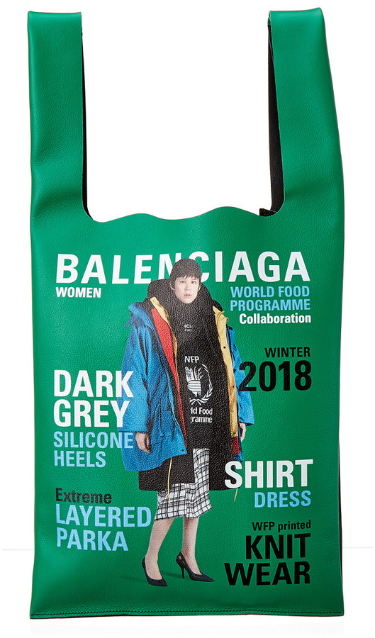 Balenciaga Campaign Leather Tote