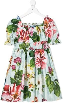 Dolce & Gabbana Floral Print Dress