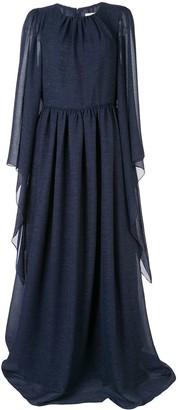 Ingie Paris Draped Kaftan Gown