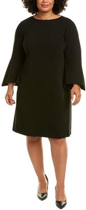 Lafayette 148 New York Plus Paloma Shift Dress