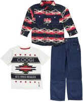"Coogi Little Boys' "" Stars"" 3-Piece Outfit"
