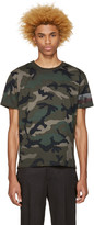 Valentino Green Authentic Camo T-shirt