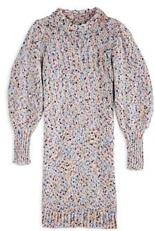 Aqua Girls' Speckle Sweater Dress, Big Kid - 100% Exclusive