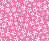 686 SheetWorld Fitted Basket Sheet - Primary Pink Floral Woven - Made In USA - 13 inches x 27 inches (33 cm x cm)