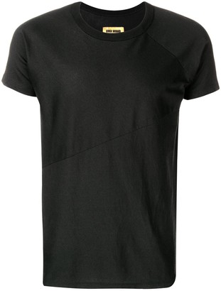 UMA WANG geometric cut T-shirt
