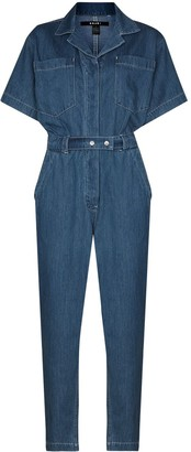 Ksubi Wasteland denim boilersuit