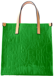 Dooney & Bourke Retro Embossed Lunch Bag