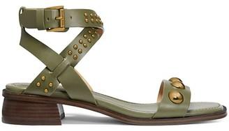 MICHAEL Michael Kors Garner Studded Leather Sandals