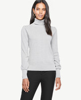 Ann Taylor Pointelle Turtleneck