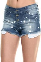 Lee Cooper Frayed Bleached Shorts