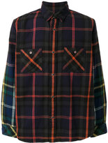 Sacai checked shirt