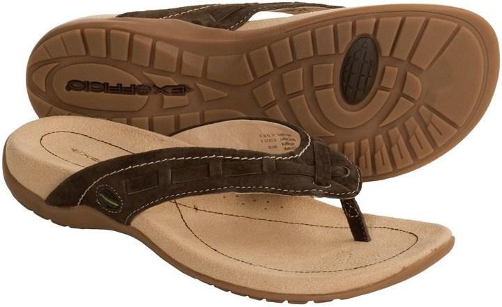 Exofficio Devata Thong Sandals - Leather (For Women)