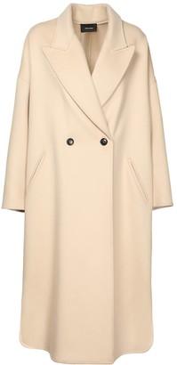 Isabel Marant Elliot Wool Blend Coat