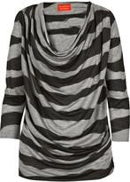 Vivienne Westwood Striped cowl-neck jersey top