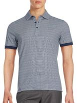 Saks Fifth Avenue Pima Cotton Polo