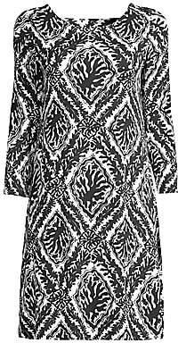 Lilly Pulitzer Women's Ophelia Onyx Reef-Print Shift Dress