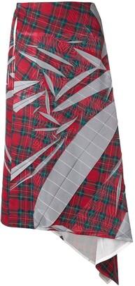 Yohji Yamamoto Pre-Owned 2000's Tartan Print Skirt