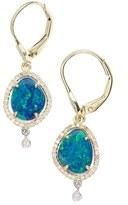 Meira T Women's Meirat Diamond & Semiprecious Stone Drop Earrings
