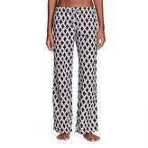Flora by Rockflowerpaper Women's Woven Sleep Pajama Pant - Sumba Black