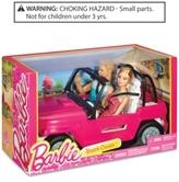 Barbie Mattel's & Ken® Dolls & Beach Cruiser Playset