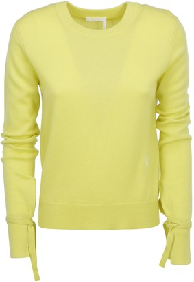 Chloé Sleeve Tie Detail Sweater