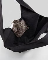 Cynthia Vincent Geometric Print Shopper Bag, Black