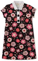 Kate Spade Girls' Floral-Print Collared Shift Dress, Size 7-14