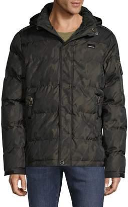 ProjekRaw Projek Raw Camouflage Hooded Jacket
