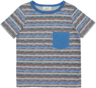 Peek Aren't You Curious Liam Stripe Pocket T-Shirt