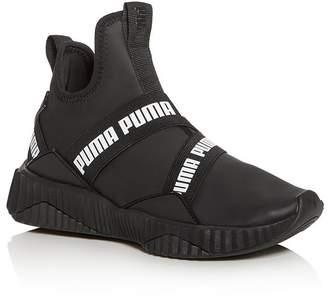 Puma Women's Defy Slip-On Low-Top Sneakers
