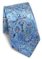 Ermenegildo Zegna Paisley Patterned Silk Tie