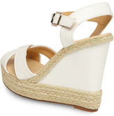 Dorothy Perkins White espadrille wedges
