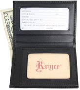 Royce Leather Men's Double ID Flip Credit Card Wallet 121-6