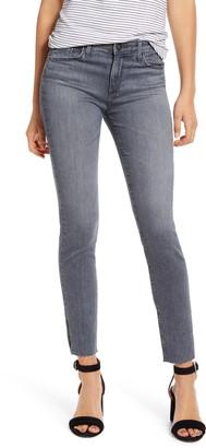 AG Jeans Prima Slit Raw Hem Ankle Skinny Jeans
